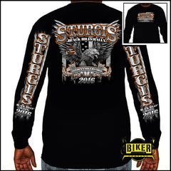 2016 Official Sturgis Big Eagle, Long Sleeve