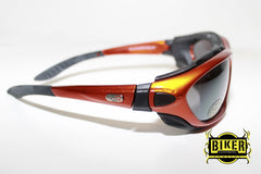 Eye Q USA Dark Tint Orange Sunglasses