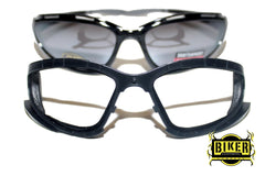 Eye Q USA Black Dark Tint Foam Cushion Sunglasses