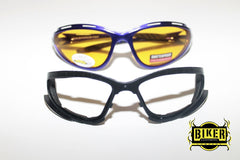 Eye Q USA Blue Cushion Sunglasses