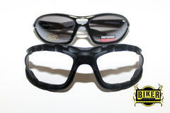 Eye Q USA Dark Tint Black Cushion Sunglasses