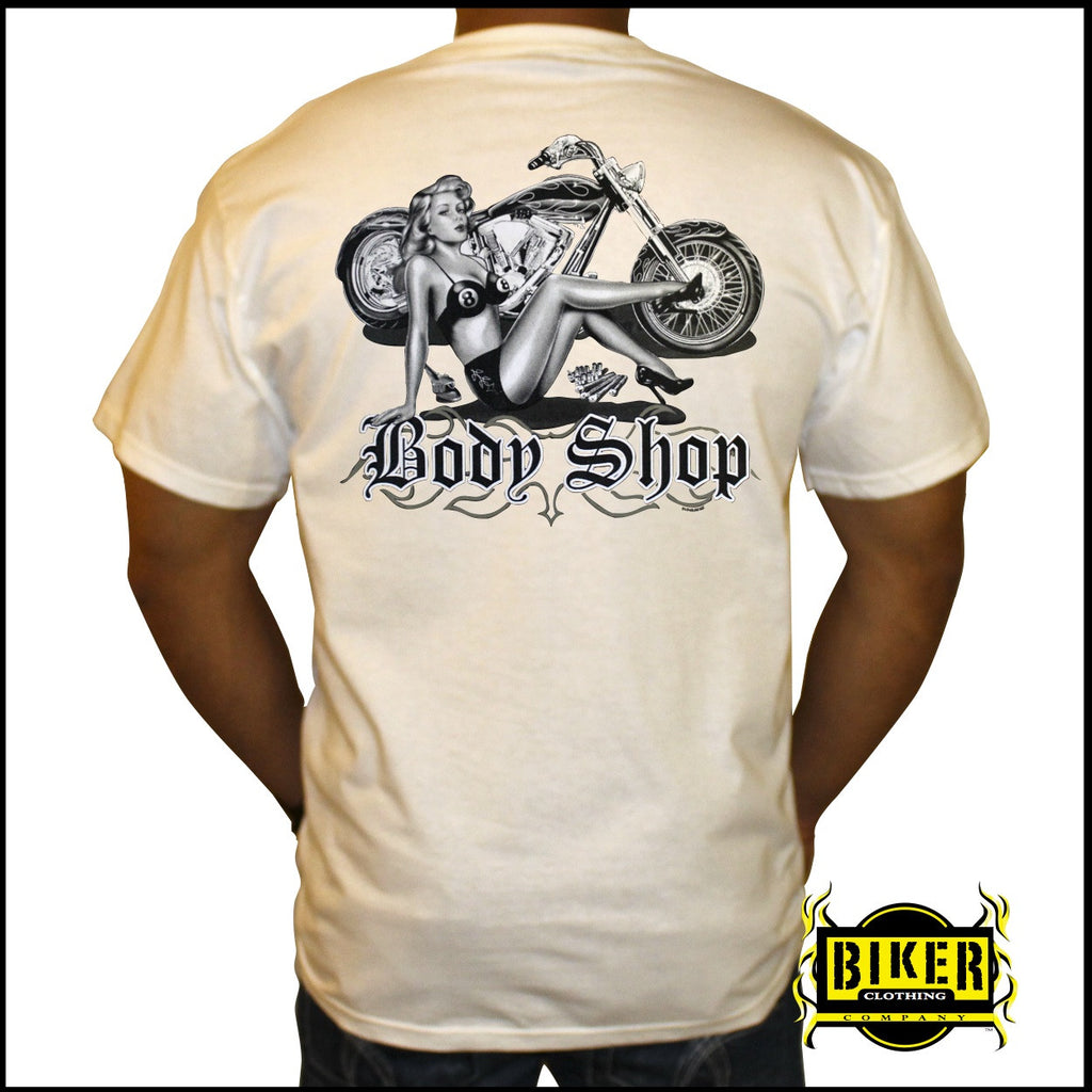 Body Shop Short Sleeve T-Shirt