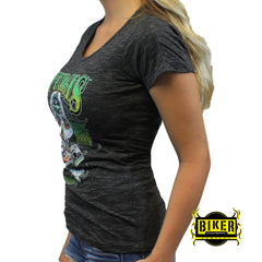 2016 Official Sturgis Net-Back Skull, Short Sleeve