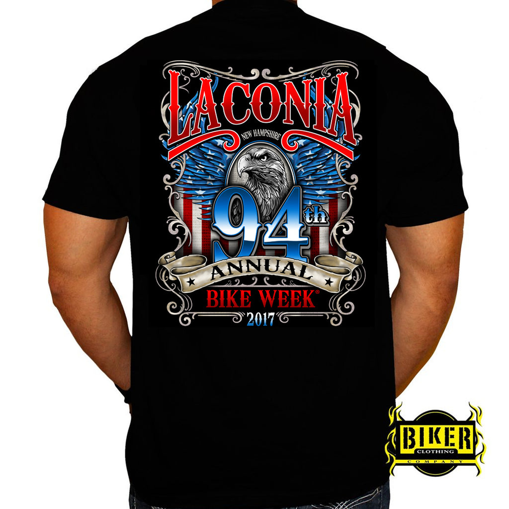 2017 Laconia Patriot Eagle T-shirt