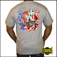 American Babe Short Sleeve T-shirt