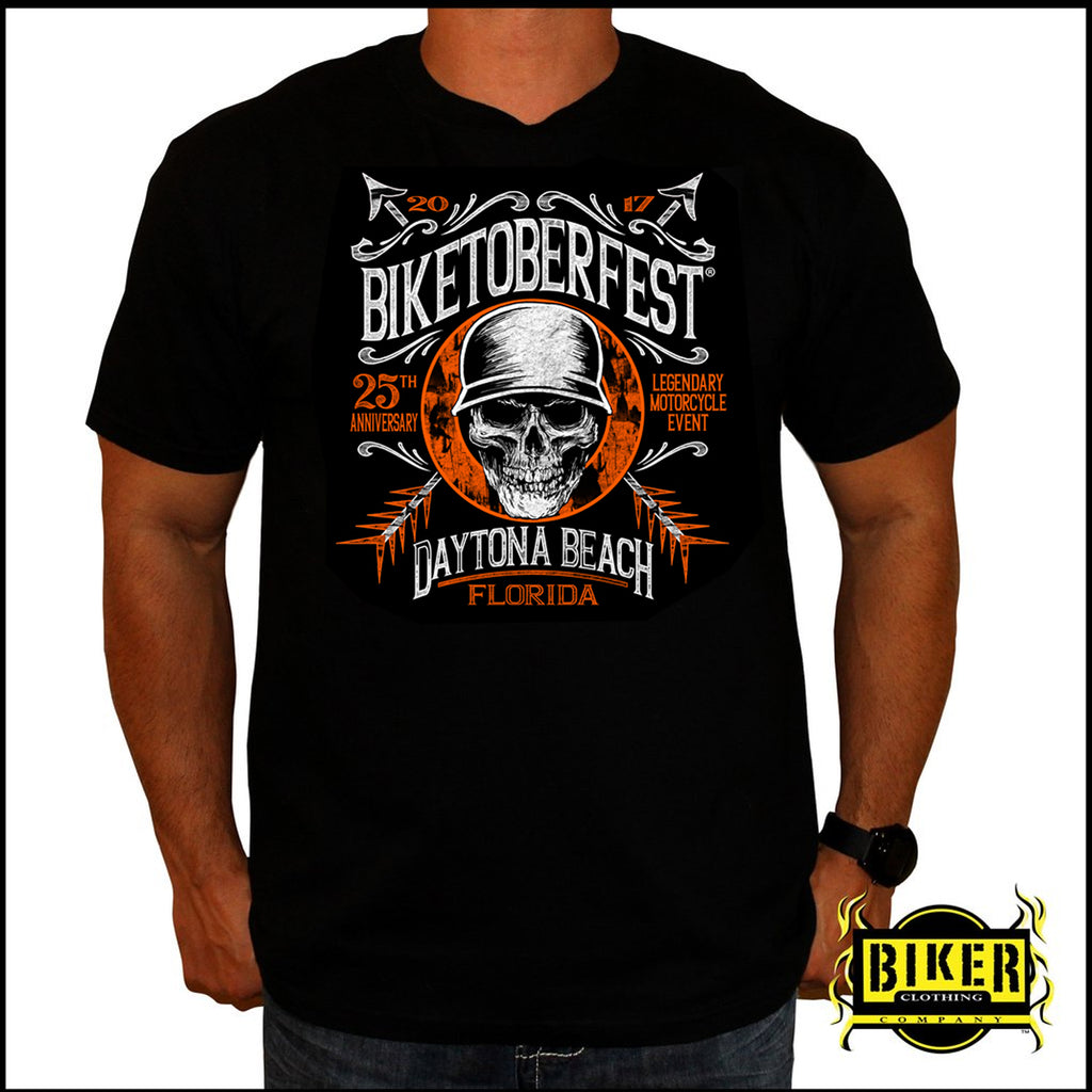 2017 Biketoberfest Arrow Skull T-shirt