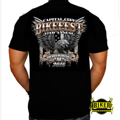 2016 Official Capital City Bikefest Big Eagle, T-Shirt