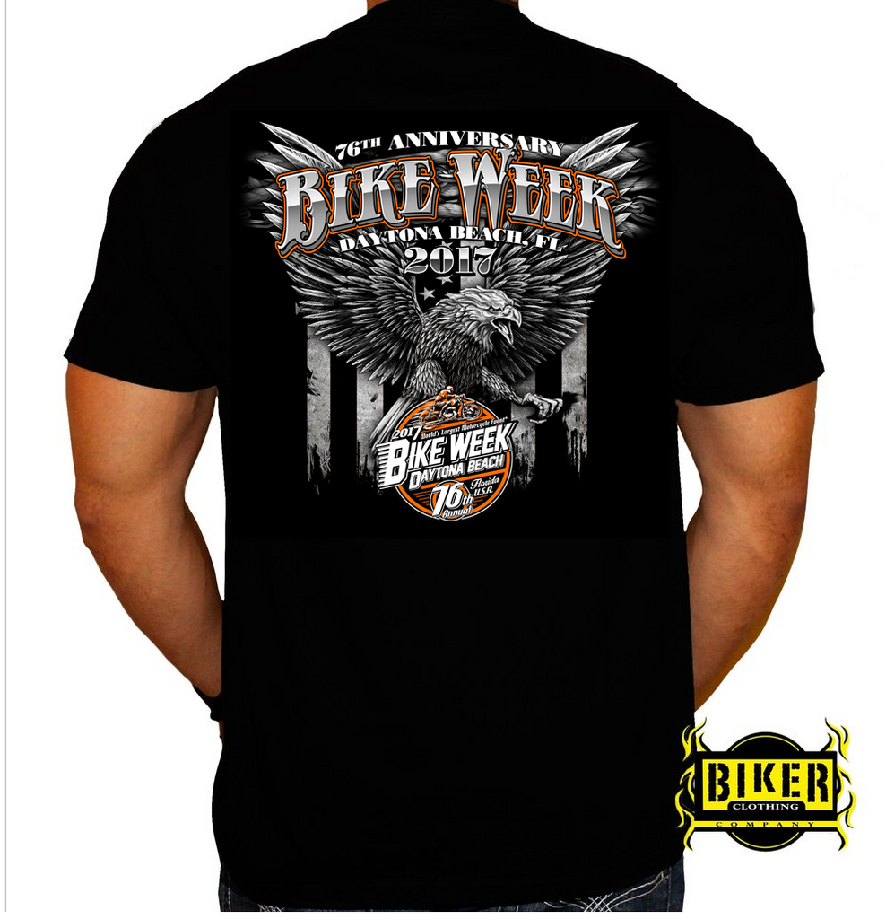 2017 Official Bike Week Big Eagle T-Shirt