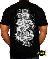 Death Before Dishonor short sleeve T-shirt