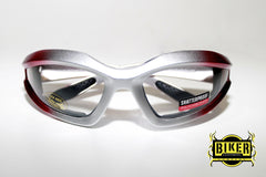 Eye Q USA Electric Red Two-Tone Sunglasses