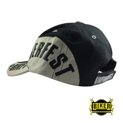 Official 2016 Biketoberfest Black & Grey Hat