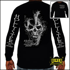 2016 OFFICIAL HOLLISTER INDEPENDENCE RALLY SMOKE LONGSLEEVE