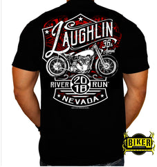 Official 2018 Laughlin River Run, New Red Bike Design