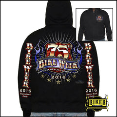 OFFICIAL DAYTONA BIKE WEEK 2016 OFFICIAL DESIGN HOODIE