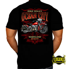 2017 Ocean City Crimson Bike T-shirt