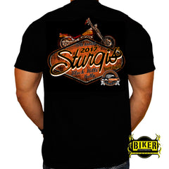 Official 2017 Sturgis Retro Logo T-shirt