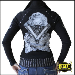 Marilyn Zip-Up Collar