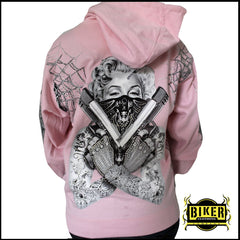 Marilyn Hooded Sweatshirt