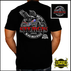 2016 Official Sturgis Eagle with American Flag Bike, T-Shirt