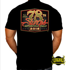 2018 STURGIS MOTORCYCLE RALLY OFFICIAL DESIGN