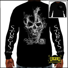 2018 STURGIS MOTORCYCLE RALLY SMOKE LONG SLEEVES