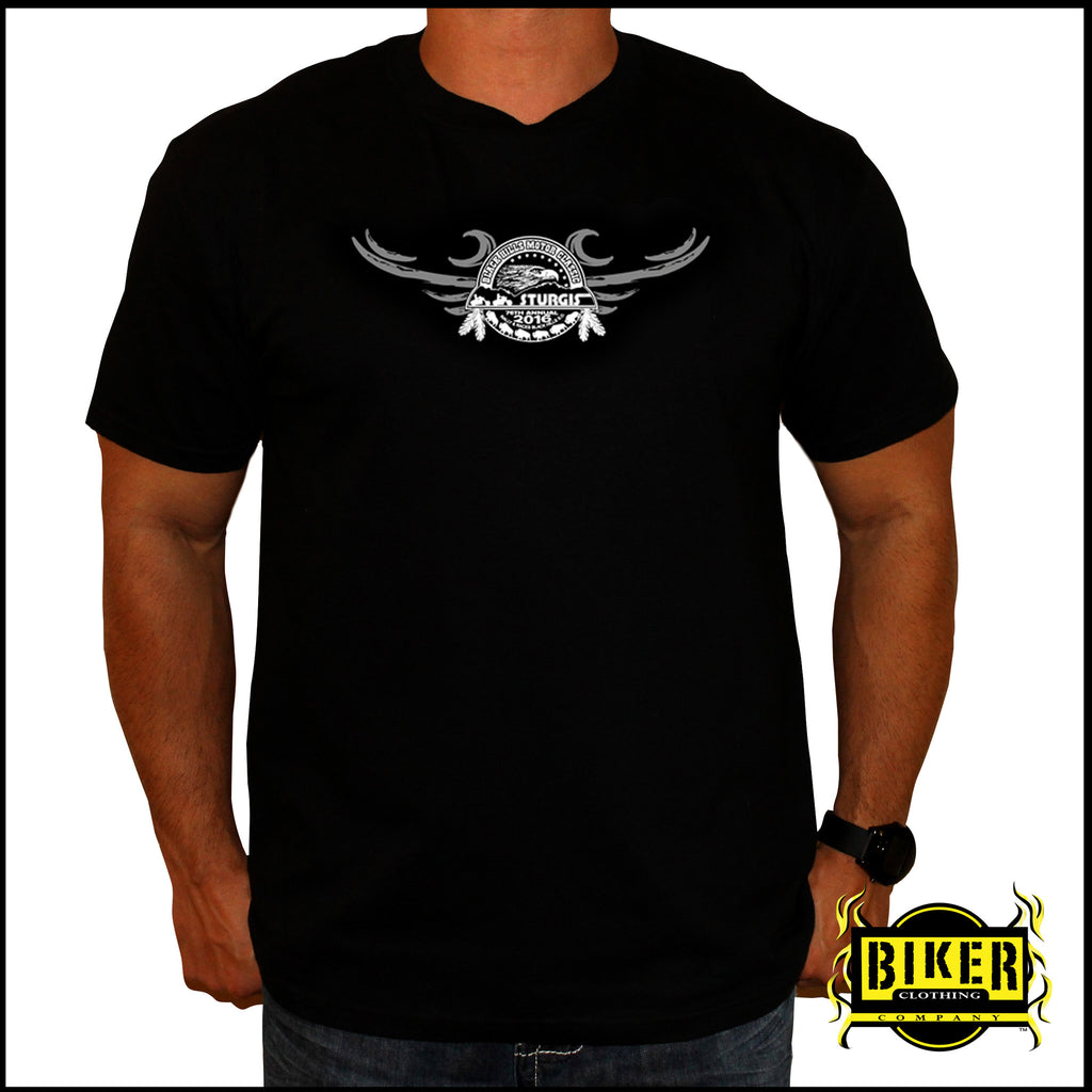 2016 Official Sturgis Winged Skull, T-Shirt