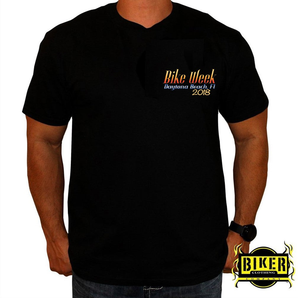 2018 Official Daytona Bike Week New Clown Design T-Shirt