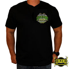 2018 OFFICIAL DAYTONA BIKE WEEK, SHAMROCK RIDER T-SHIRT