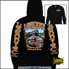 2016 Laconia Motorcycle Rally Weirs Beach Train Sweatshirt