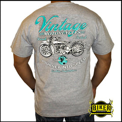 Vintage Journey into speed short sleeve T-shirt
