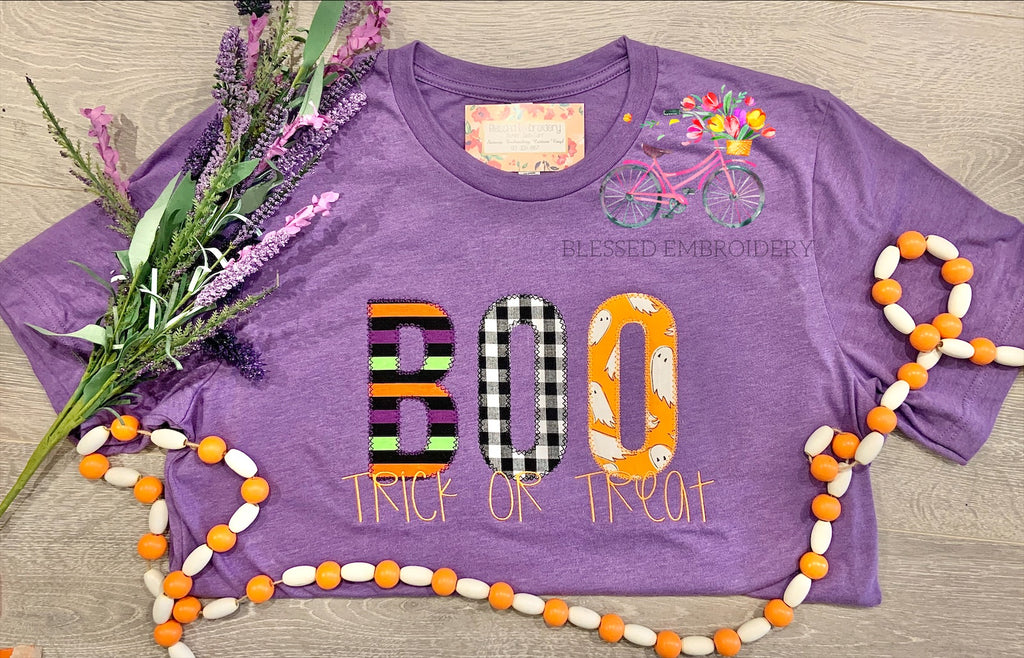 Boo Trick Or Treat Shirt