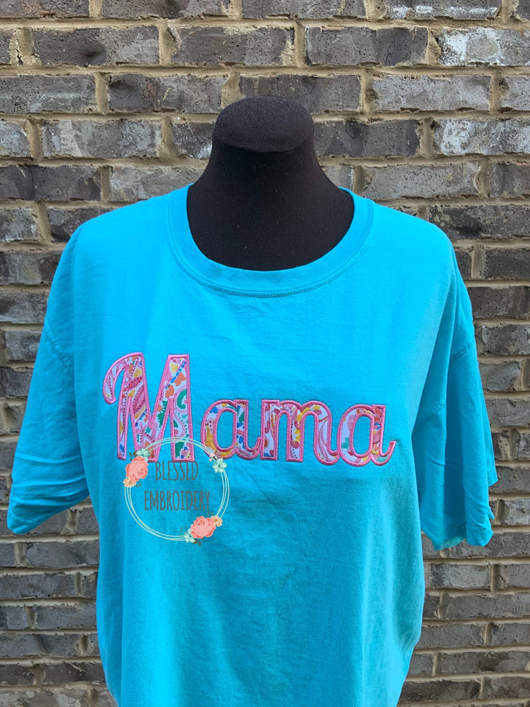 Mama Applique Shirt