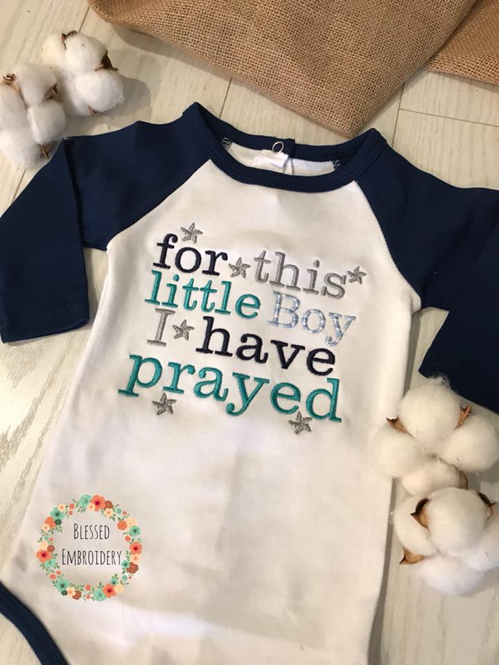 For This Little Boy I have prayed onesie, For this boy i have prayed onesie, boy coming home outfit