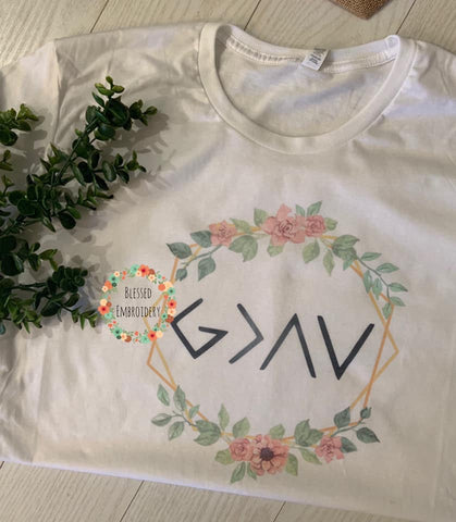 God is Greater Than The Highs and The Lows Tee
