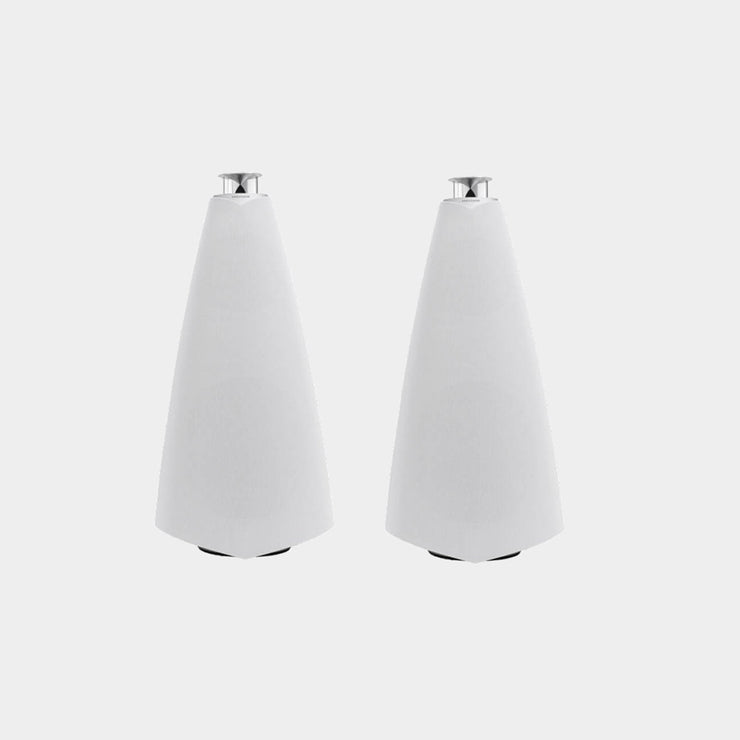 White Beolab 20 speakers look amazing in the home