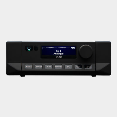 Cyrus i7-XR Integrated Amplifier Black | Front | Holburn Online