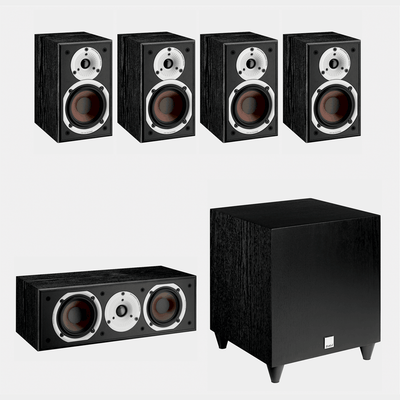 Dali Spektor 1-1.5 | Speaker Bundle | Black | Holburn Online