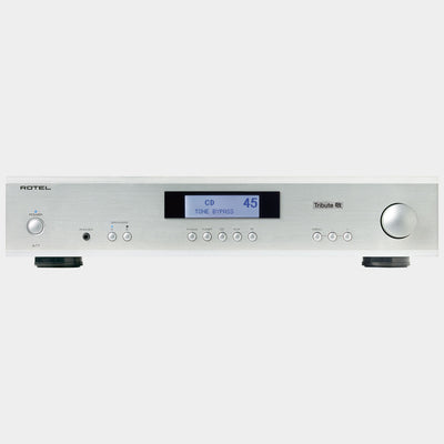 Rotel A11 Tribute Integrated Amplifier Silver | Front | Holburn Online