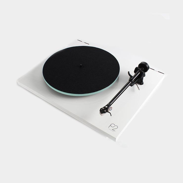 Rega planar 2 in white is a very popular turntable