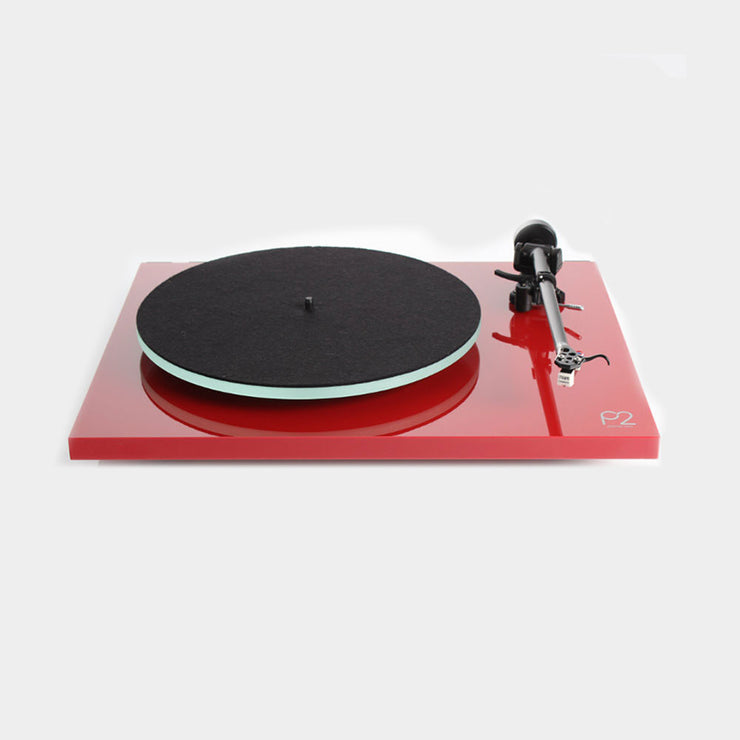 we also offer the Rega planar 2 in an eye catching red finish