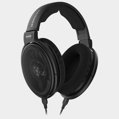 Sennheiser HD660s Wired Headphones | Black | Front View | Holburn Online