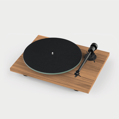 ProJect T1 Turntable in Walnut Finish | Ex Demonstration | Holburn Online