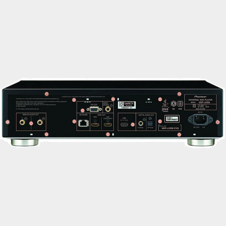 Pioneer UDP-LX500 4K Bluray Player Universal Disc Player