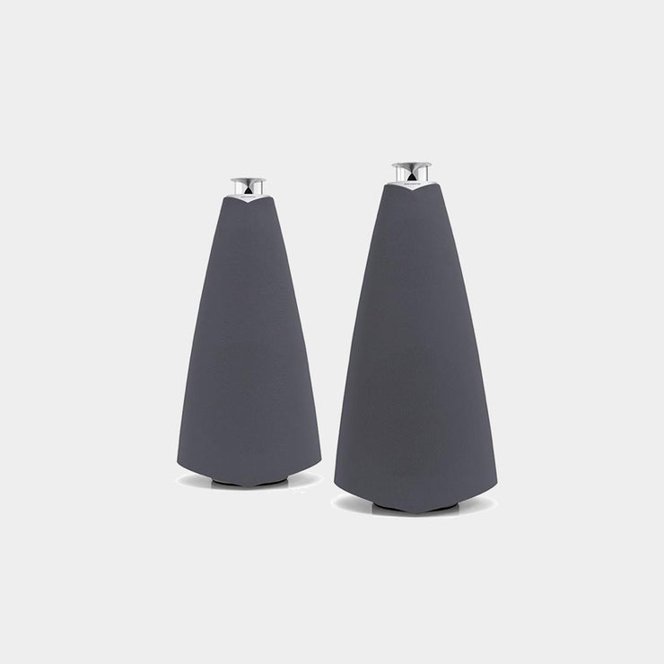 BeoLab 20 wireless speakers in the color grey