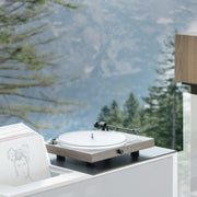 This project record player is easy to use and makes music sound great!