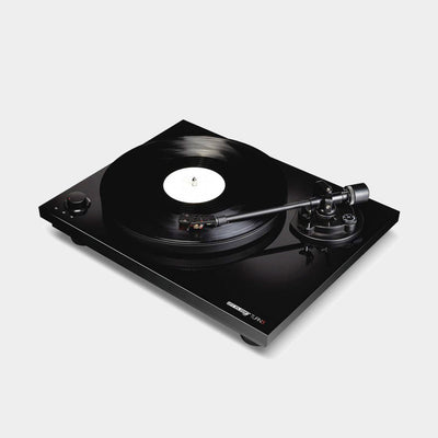 beautiful black record player by reloop
