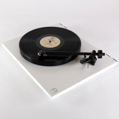 Rega Planar 1 Plus | Turntable | Matt White | Holburn Online