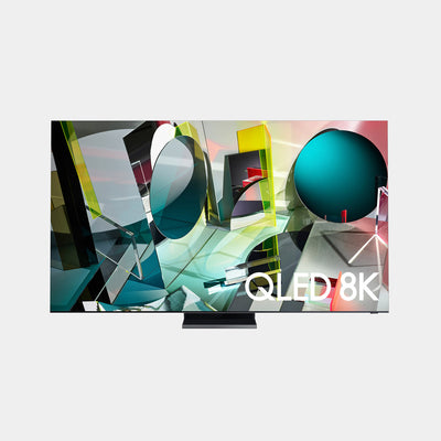 The samsung q900t TV that has amazing 8k picture on a QLED screen.