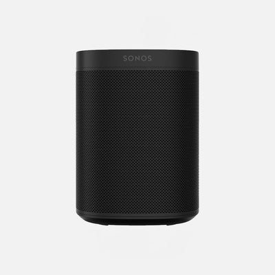 Sonos one sl, pictured here in black is a fantastic all around wireless speaker