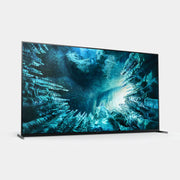 a stunning 8k picture is native to this tv by sony